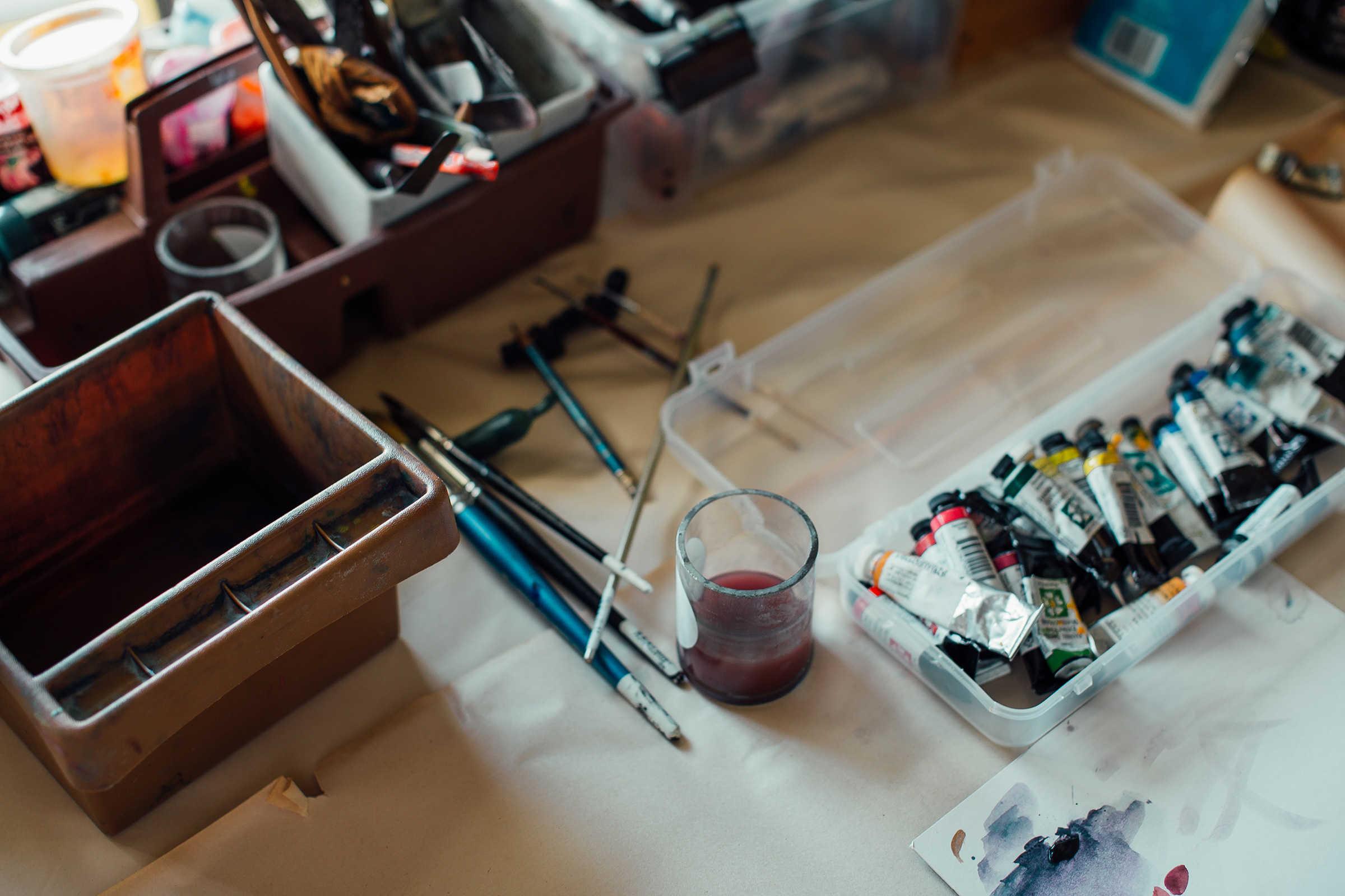 Preparing for Art Creation
